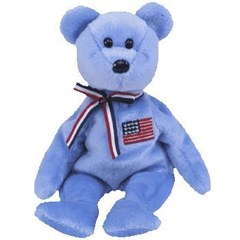 ty-beanie-baby-peluche-animaux-ours-bleu-americain