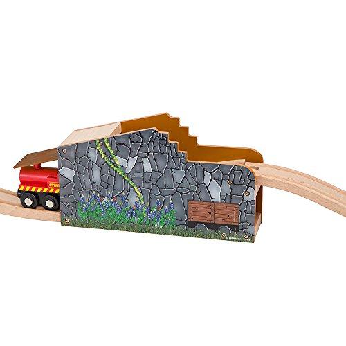 Secret Mine Tunnel Wooden Fits Thomas Brio Chuggington Melissa & Doug Imaginarium Set By Orbrium Toys