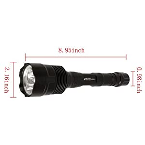 Super Bright 3800 Lumens 3 x CREE XM-L T6 LED Flashlight Torch