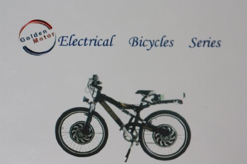 Goldenmotorusa/2000 Watt Dual Drive Electric Bike