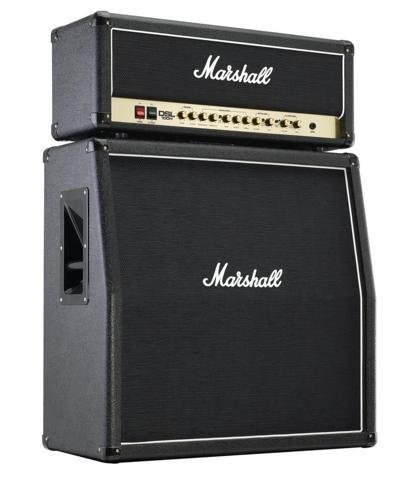 Marshall DSL100H Half Stack 100 Watt Guitar Amplifier Head with MX412A 4x12