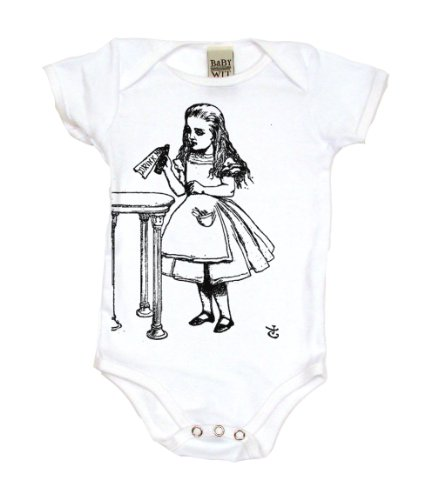 Alice In Wonderland Drink Me on Infant One Piece [Apparel]