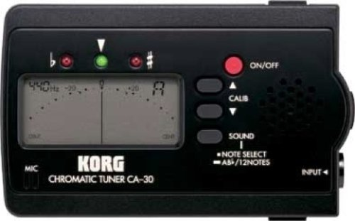 Korg Ca-30 Chromatic Guitar/Violin/Bass/Mandolin Tuner