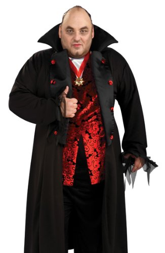 Rubies Halloween Vampire Count Dracula Mens Plus Size Costume