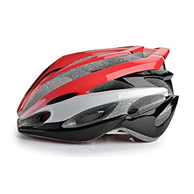 Women's/ladies/ girls road bike cycling racing helmet in red Size 55-62cm by Guanshi