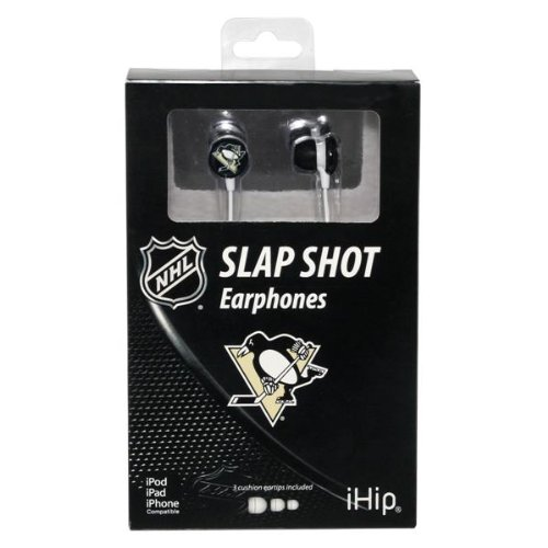 Nhl Pittsburgh Penguins Ihip Logo Earbud