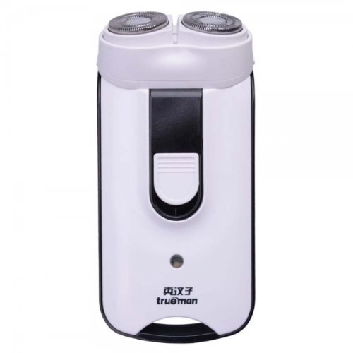 True Man Rsgf-2080(A) Two Head Rotary Rechargeable Shaver White By Preciastore