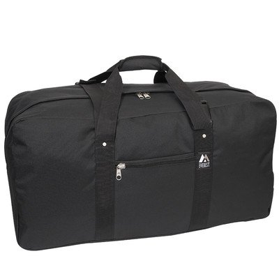 "30"" Heavy Duty Cargo Travel Duffel Color: Black"