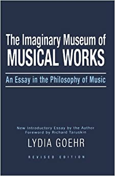 Works of music an essay in ontology