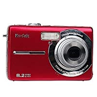 Kodak Easyshare M853 8.2 MP Digital Camera with 3xOptical Zoom (Red)