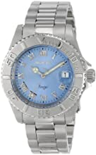 Invicta Angel Women's Quartz Watch with Blue Dial  Analogue display on Silver Stainless Steel Bracelet 14361