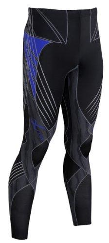 CW-X CW-X Men's Revolution Tights Black / Blue Medium