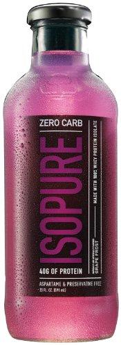 Natures Best Isopure - Isopure RTD Zero Carb Grape, , 12 drinks