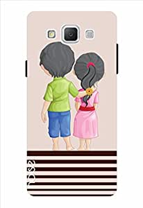 Noise Unbroken Bond-Beige Printed Cover for Samsung Galaxy Grand Max SM-G7200