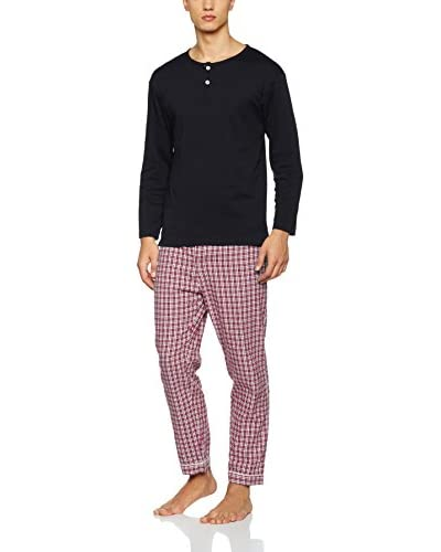 GRINO Pijama Peter Azul / Blanco