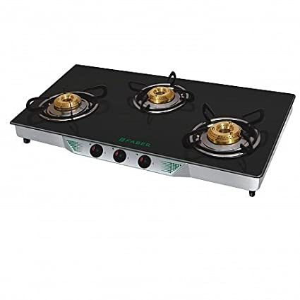 Faber Crystal 30 CT AI 3 Burner Gas Cooktop