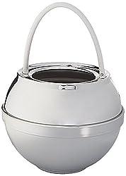 Crystal Quest CQE-SP-00809 Chrome Bath Ball Filter