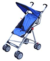 Bebelove USA Tilting Umbrella Stroller, Dark Blue