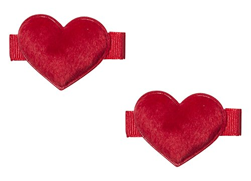 anna-belen-cora-fuzzy-heart-hair-clip-o-s-medium-red-2-pieces