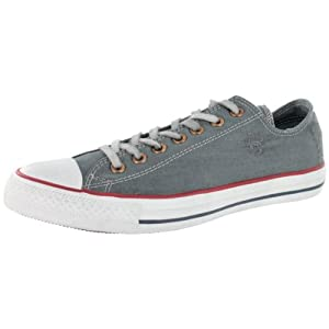 Converse Men's Chuck Taylor All Star Destroyed Denim Fashion Sneaker Grey 8.5 M US