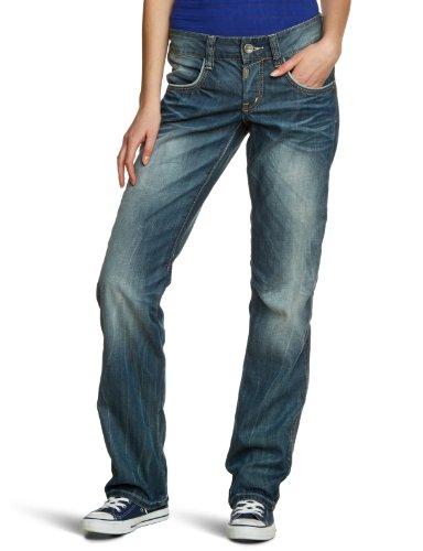 timezone damen jeans normaler bund evia 3482 grey white. Black Bedroom Furniture Sets. Home Design Ideas