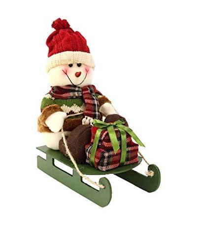 Figura Decorativa Snowman