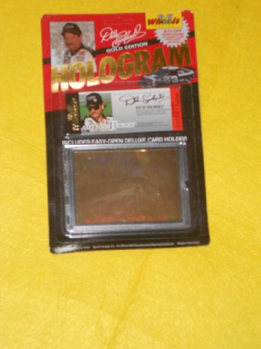Wheels Racing Dale Earnhardt Gold Edition Hologram Card Numbered Piece - 1