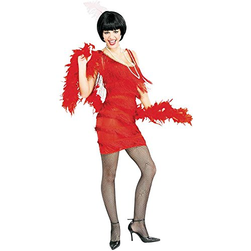 Roaring' Red Flapper Adult Costume