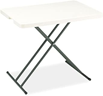 Iceberg 1200 Series IndestrucTable Too Commercial Grade Folding Table, Platinum - Specialty Sizes