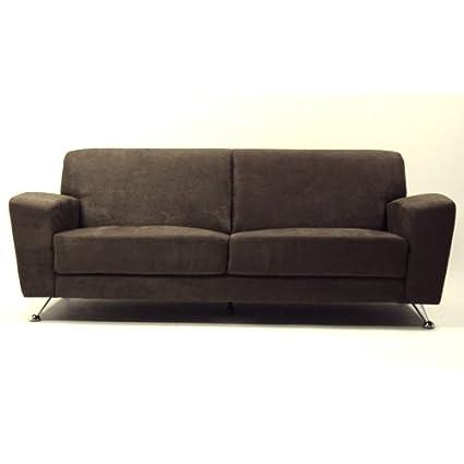 K&D Harlow Microfiber Sofa