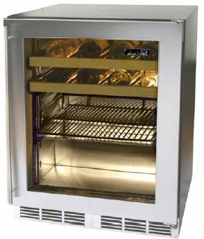 Glass Door Beverage Refrigerators front-25442