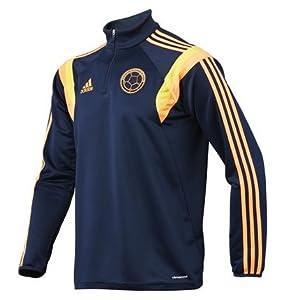 Amazon.com: Colombia Track Top Training Brasil 2014 Suéter de