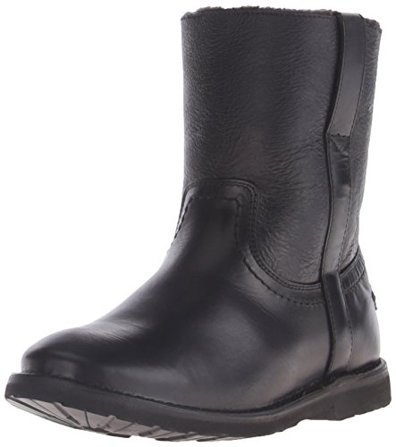 FRYE Women's Celia Shearling Short Winter Boot,  Black, 9.5 M US