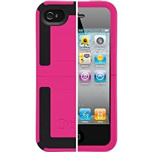 OtterBox iPhone 4/4S Reflex, APL7-I4UNI-B6-E4OTR_ (Pink/Black) (Discontinued by Manufacturer)