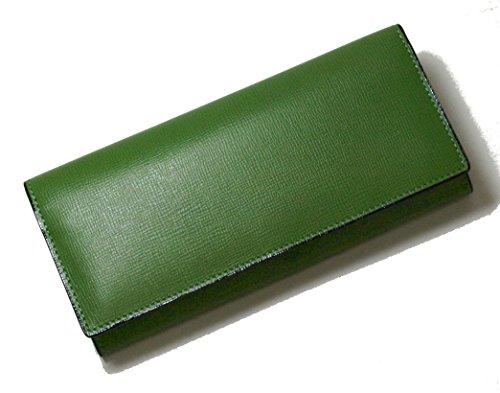 (ヴァレクストラ)Valextra 長財布 二つ折 (グラスグリーン) V8L42-044-00V2 VX-51F [並行輸入品]