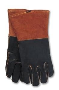 Hobart 770439 Rust/Black Welding Gloves from Hobart