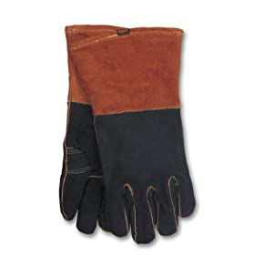 Hobart 770439 Rust/Black Welding Gloves