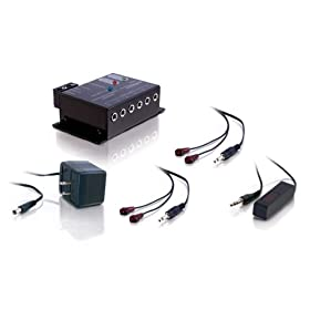 Cables To Go Impact Acoustics 40430 Infrared (IR) Remote Control Repeater Kit - Black
