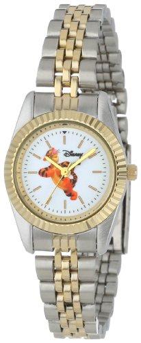 Disney Women's D133S776 Tigger Two-Tone Bracelet Watch