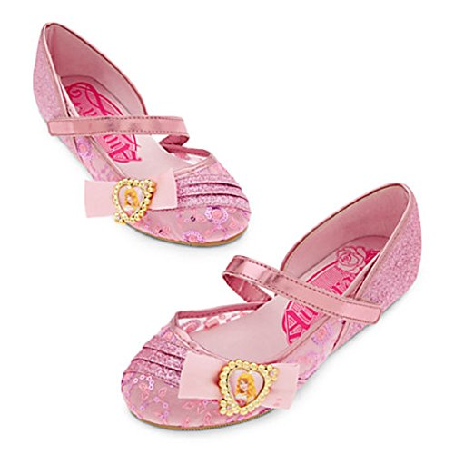 Disney Store Princess Aurora Costume Shoes ~ Sleeping Beauty