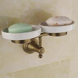 Ottone antico bagno accessori portasapone casa e cucina - Amazon accessori bagno ...