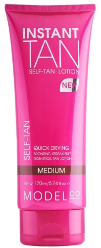 ModelCo Instant Tan Self-Tan Lotion, Medium, 5.74 fl. oz.