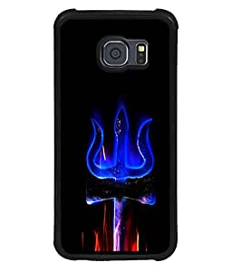 printtech Lord shiva Trishul Om Back Case Cover for Samsung Galaxy S6::Samsung Galaxy S6 G920