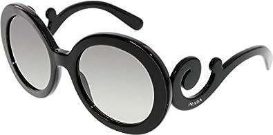 Prada PR27NS Sunglasses-1AB/3M1 Black (Gray Gradient Lens)-55mm