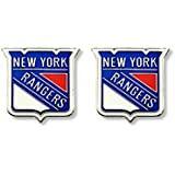 NHL New York Rangers Logo Post Earrings