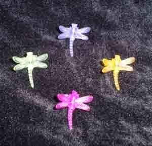 Dragon Fly Plant Stem Clips 1 Dozen