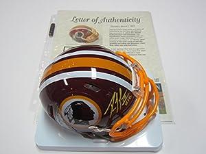Robert Griffin III Washington Redskins Mini Helmet Authentic Certified Coa
