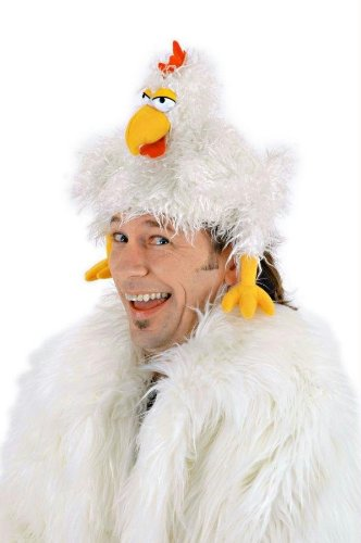 Costumes For All Occasions Elu5501 Hat The Clucker (The Clucker Hat)