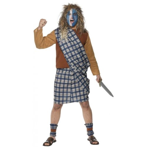 Scotish Warrior Costume