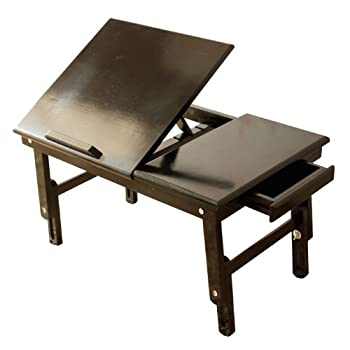 pas cher table tablette de lit pliable pc portable ipad lecture etc double plateaux en. Black Bedroom Furniture Sets. Home Design Ideas